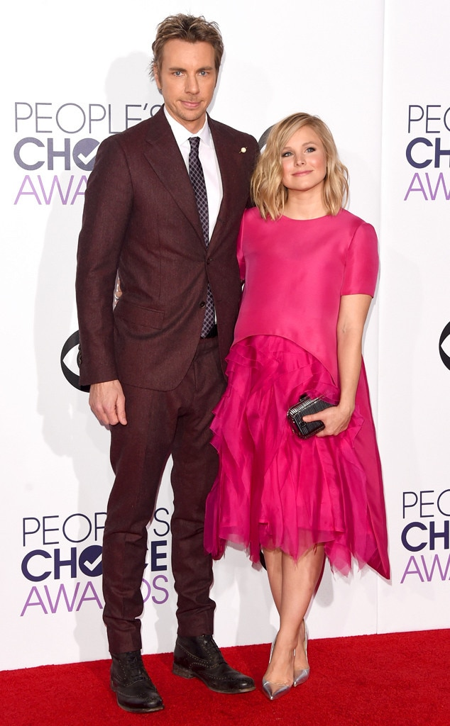 Dax Shepard, Kristen Bell, Peoples Choice Awards