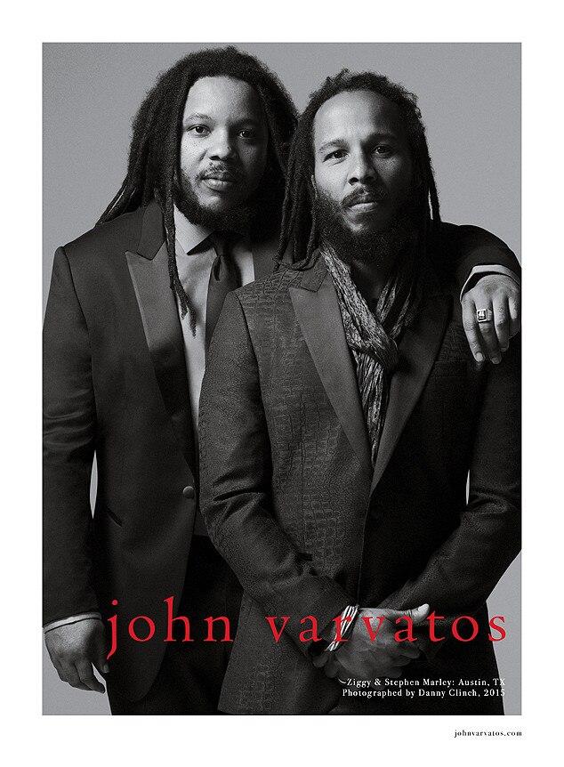 Ziggy Marley, Stephen Marley, John Varvatos