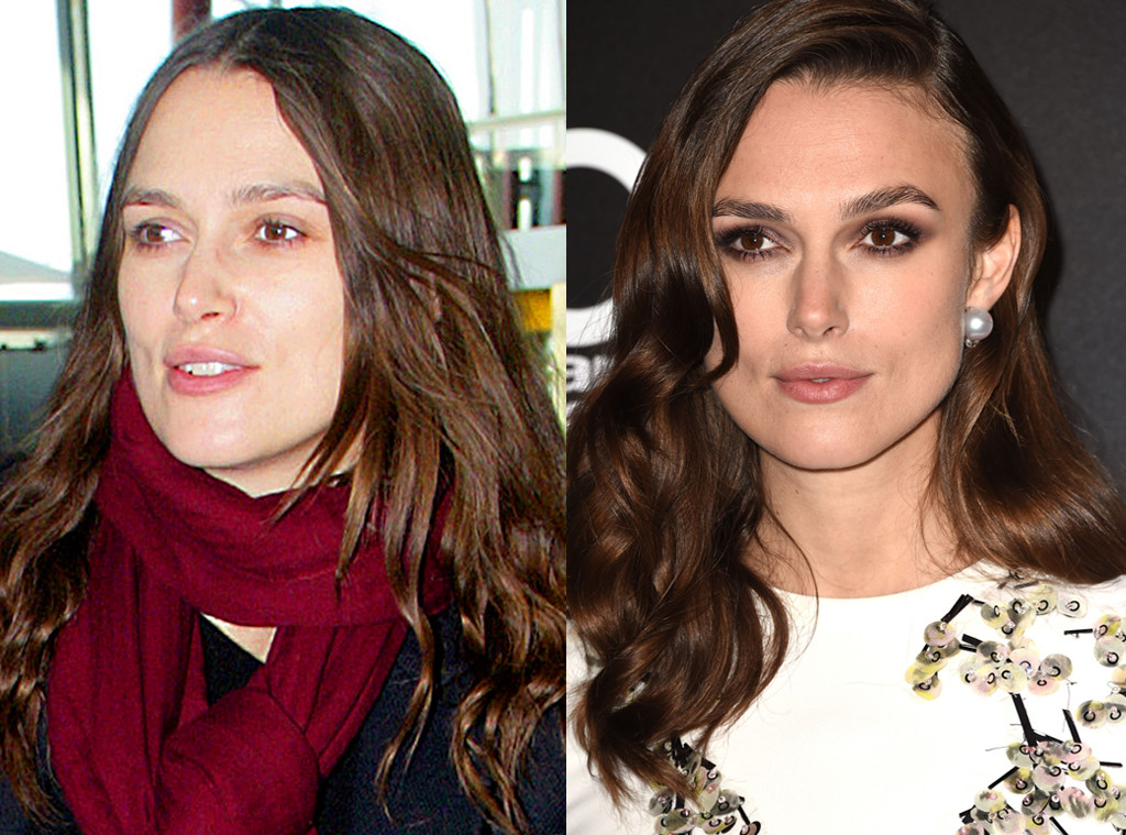 Keira Knightley From Stars Without Makeup E News