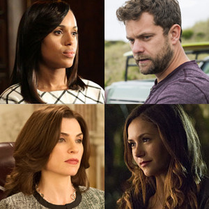 The Affair, The Vampire Diaries, Scandal, The Good Wife