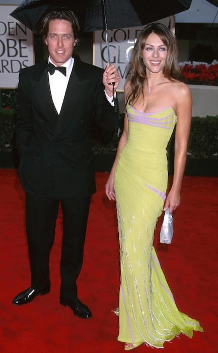 Hugh Grant, Elizabeth Hurley, Golden Globes
