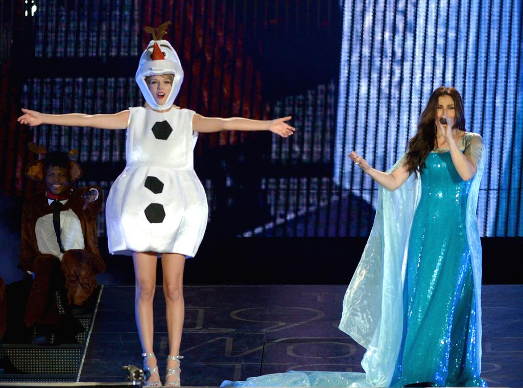 Taylor Swift Concert, Idina Menzel