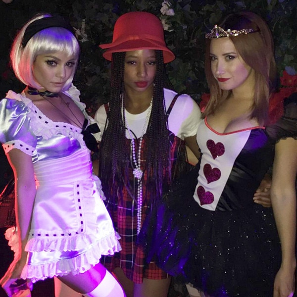 high school musical reunion instagram - Ashley Tisdale Halloween