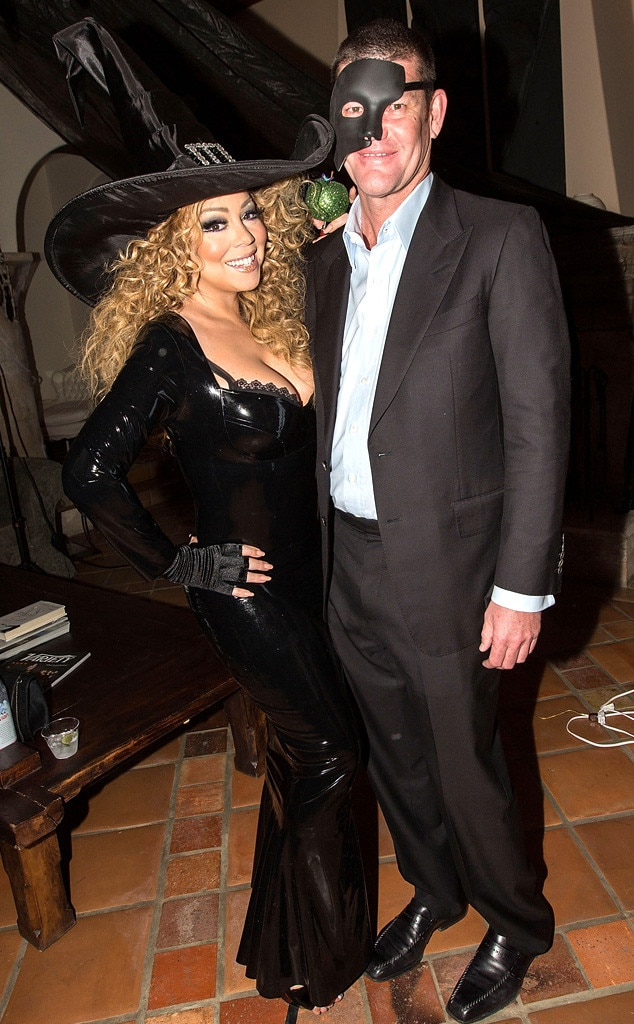 Mariah Carey, James Packer, Halloween 2015