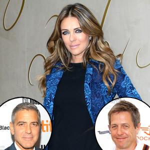 Elizabeth Hurley, George Clooney, Hugh Grant