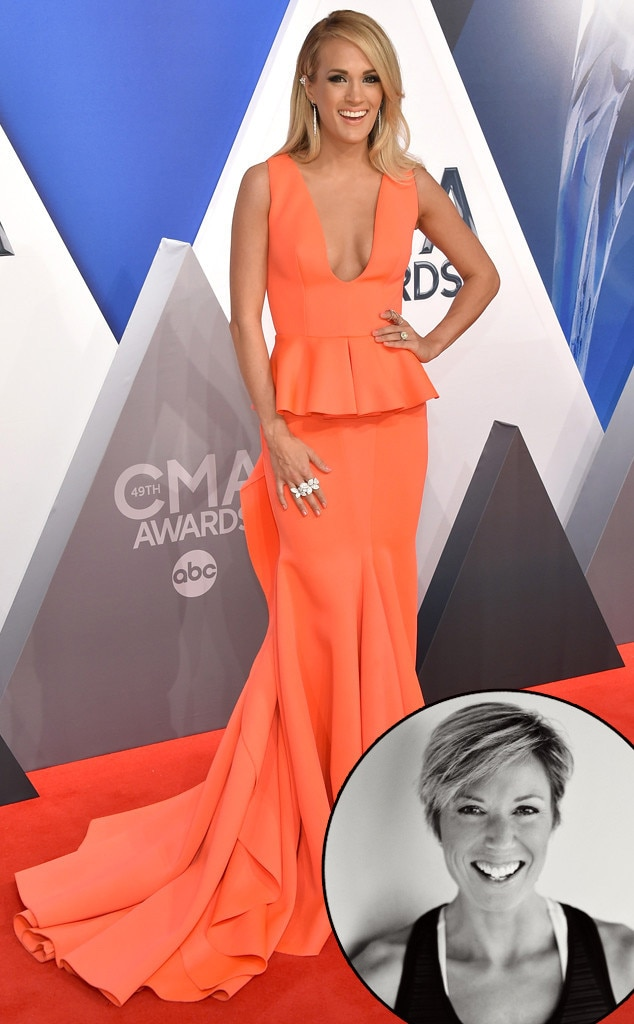 Carrie Underwood, 2015 CMA Awards, Red Carpet, Erin Oprea