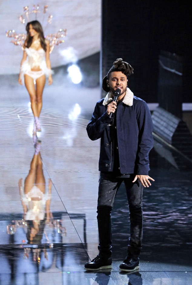 The Weeknd From 2015 Victoria 39 S Secret Fashion Show E News