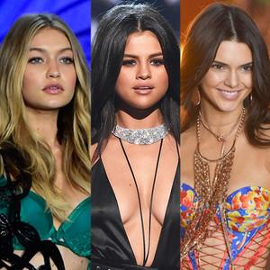 Gigi Hadid, Selena Gomez, Kendall Jenner