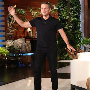 Matt Damon, The Ellen Show