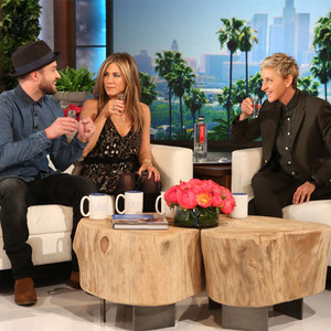 Ellen DeGeneres, Justin Timberlake, Jennifer Aniston