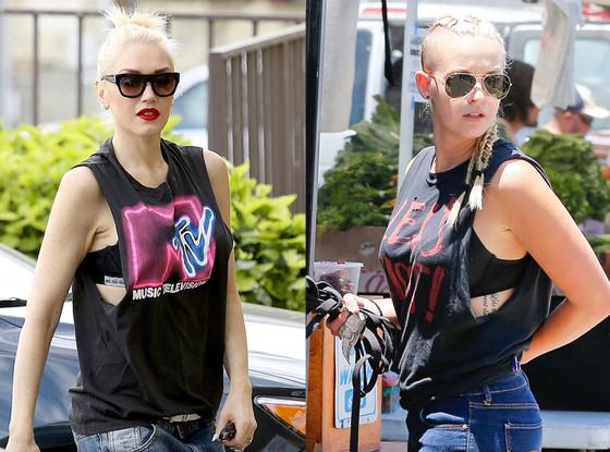Gwen Stefani, Mindy Mann, Fashion Comparison
