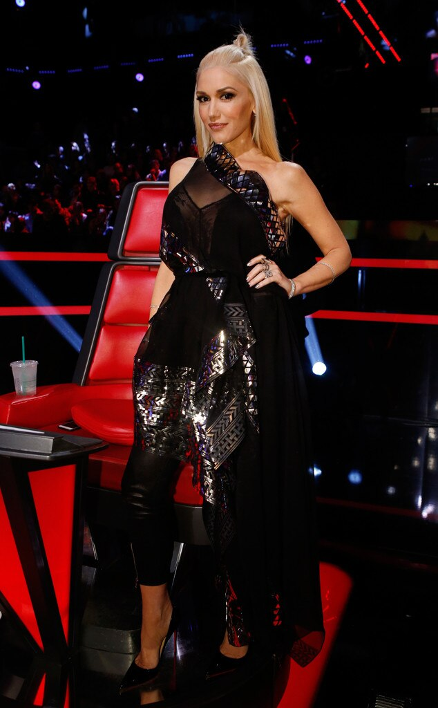 Rockstar from Gwen Stefani's The Voice Looks | E! News