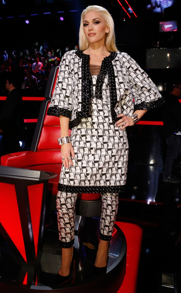 Two-Piece Tango from Gwen Stefani's The Voice Looks | E ...