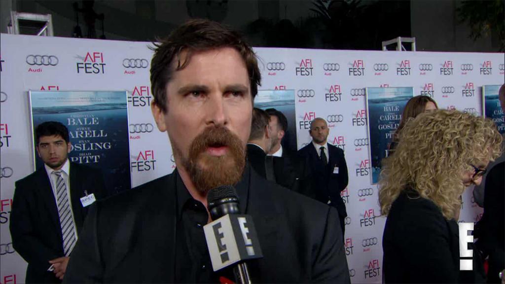 Christian Bale, The Big Short Premiere, E! News Interview