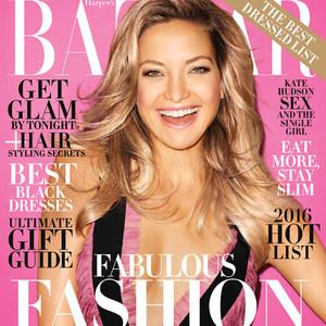 Kate Hudson, Harpers Bazaar December 2015/January 2016 Cover