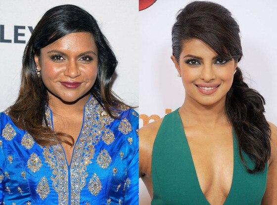 Mindy Kaling, Priyanka Chopra