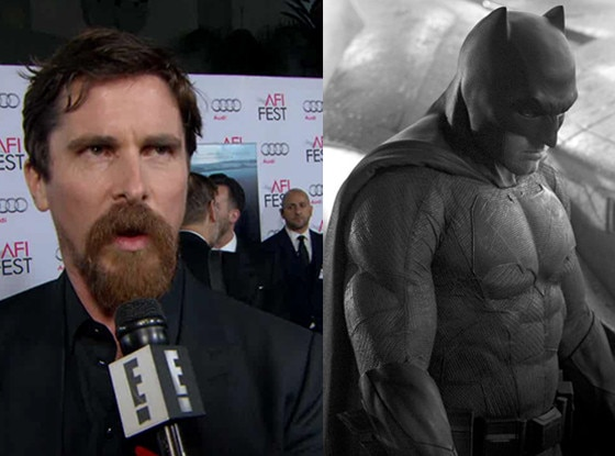 Christian Bale Offers Thoughts on Batman v Superman: Dawn of Justice ... Christian Bale