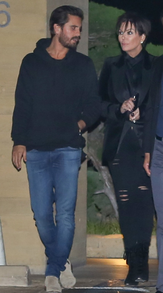 Scott Disick, Kris Jenner