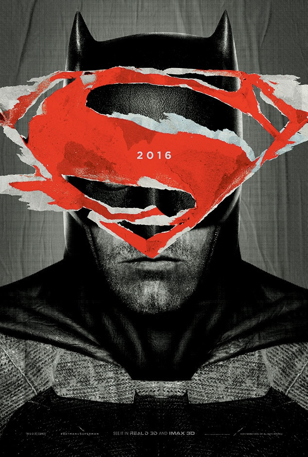 Ben Affleck, Batman v Superman: Dawn of Justice Poster