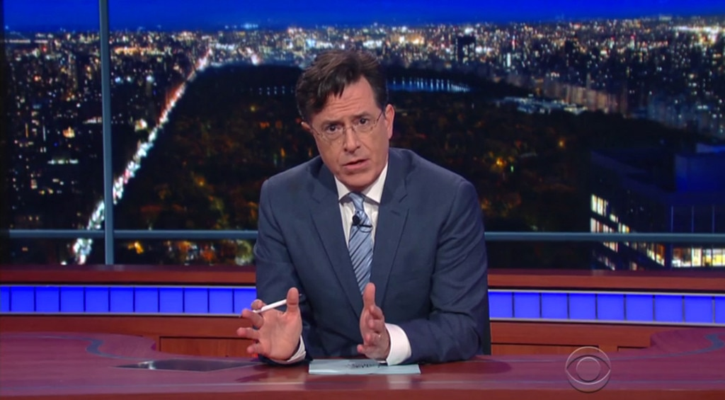 Stephen Colbert, The Late Show, Post-Paris Attacks
