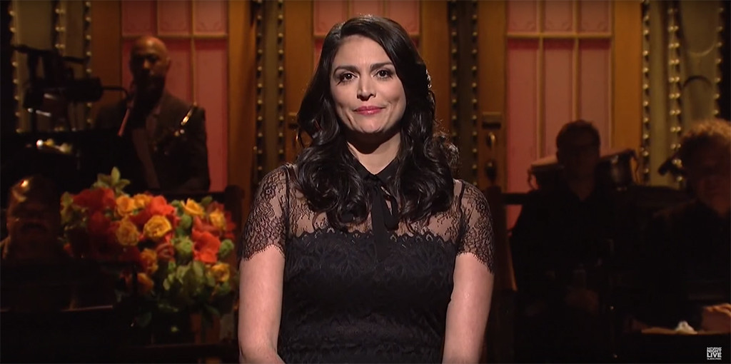 Cecily Strong, SNL, Paris Tribute