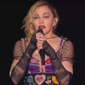 Madonna, Sweden Concert, Paris Attacks Victims Tribute