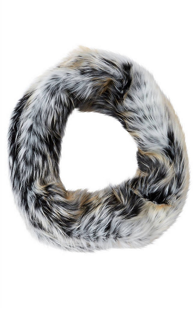 how to make a faux fur snood