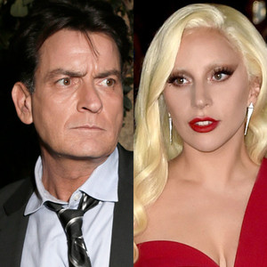 Lady Gaga, Charlie Sheen