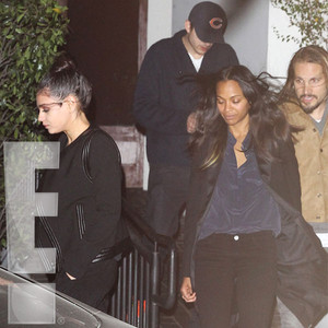 Mila Kunis, Ashton Kutcher, Zoe Saldana, Marco Perego, Exclusive