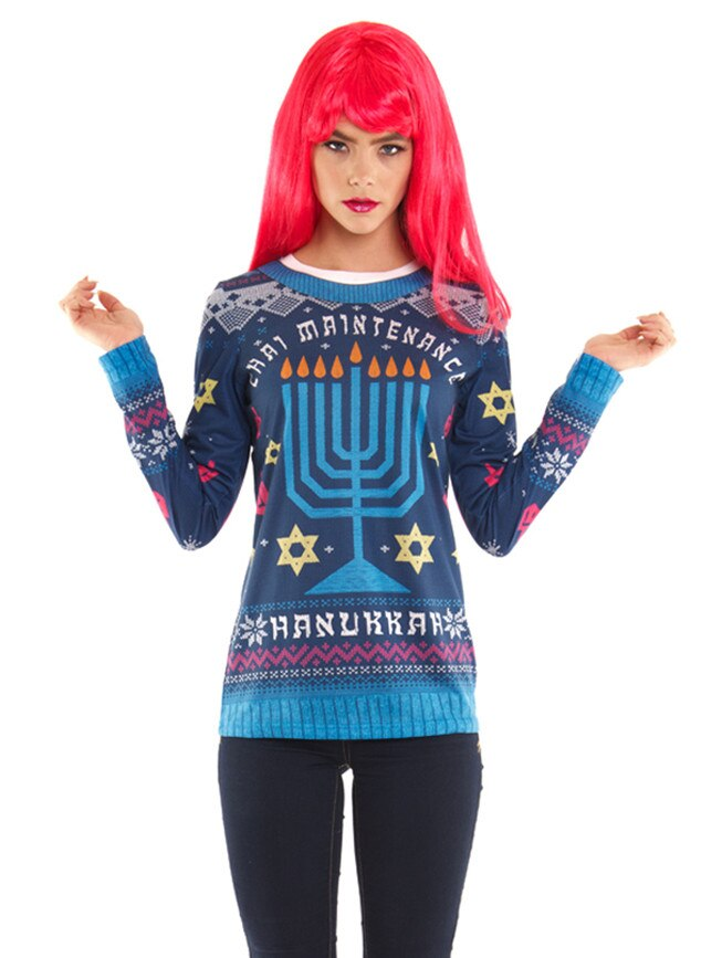 Nordstrom Hanukkah Sweater From Controversial Clothing E