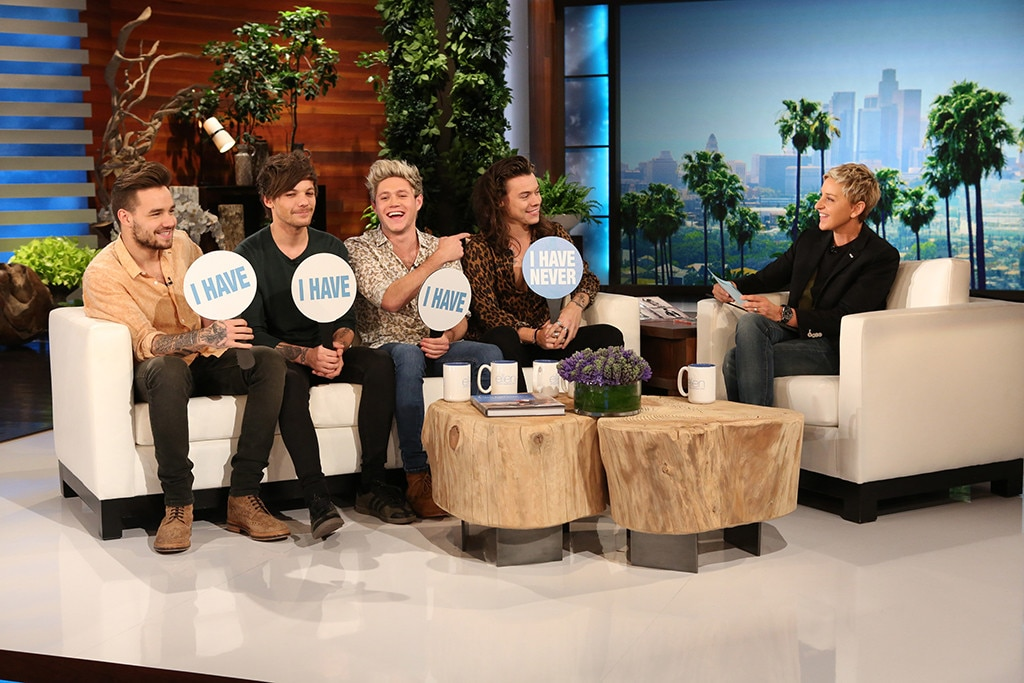One Direction, The Ellen DeGeneres Show