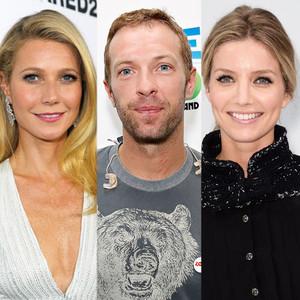 Gwyneth Paltrow, Chris Martin, Annabelle Wallis
