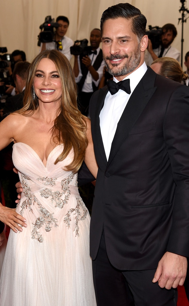 Sofia Vergara with her second husband Joe Manganiello