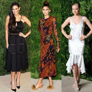 Demi Moore, Zendaya, Amanda Seyfried, CFDA/Vogue Awards