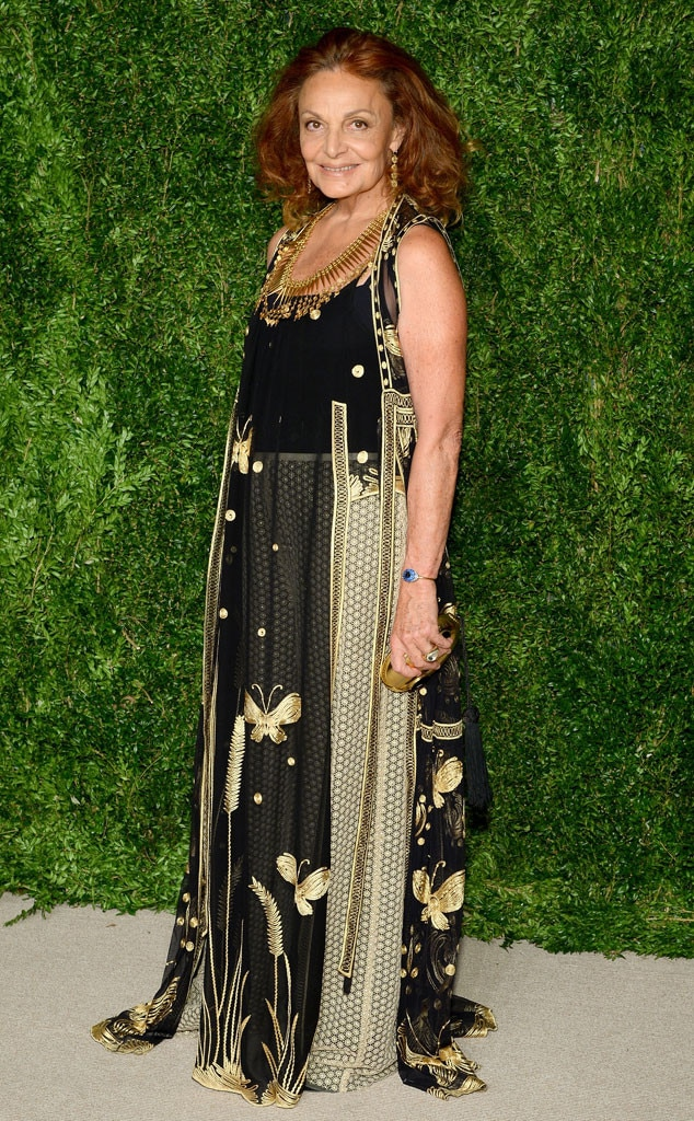Diane Von Furstenberg, CFDA/Vogue Fashion Fund Awards