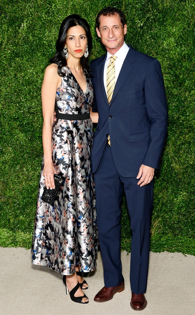Huma Abedin, Anthony Weiner, CFDA/Vogue Fashion Fund Awards