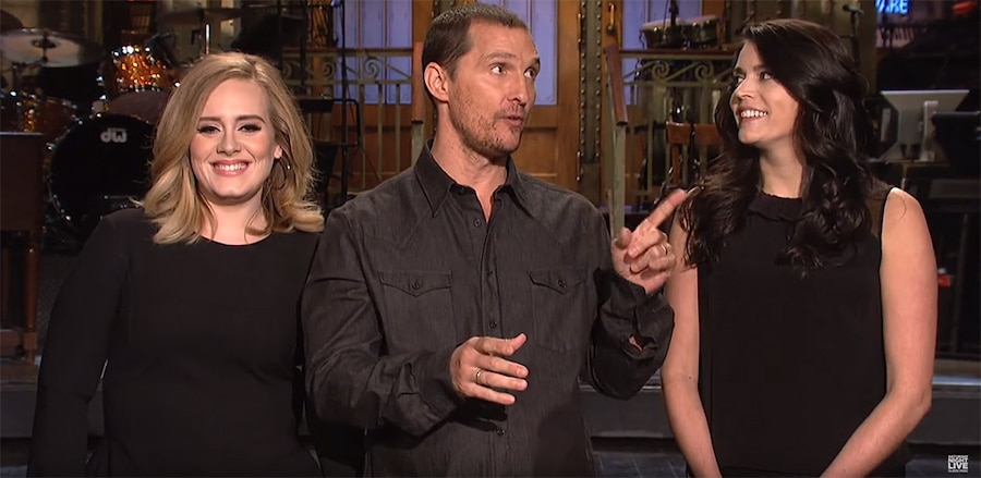 Adele, Matthew McConaughey, Cecily Strong, SNL Promo