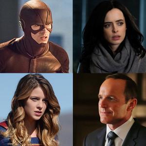 Clark Gregg, Supergirl, Jessica Jones, Flash