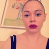Rose McGowan, Shaved Head