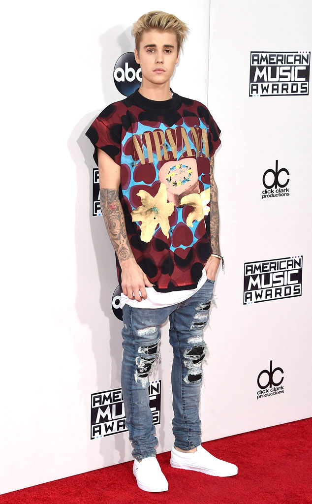 Justin Bieber, 2015 American Music Awards