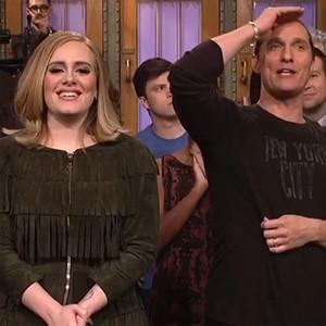 Adele, Matthew McConaughey, SNL