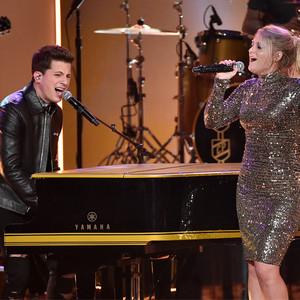 Charlie Puth, Meghan Trainor, 2015 American Music Awards