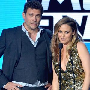 Jeremy Sisto, Alicia Silverstone, 2015 American Music Awards