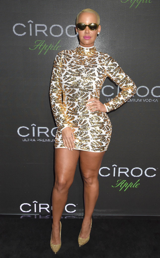 Amber Rose, Sean Diddy Combs Birthday Party