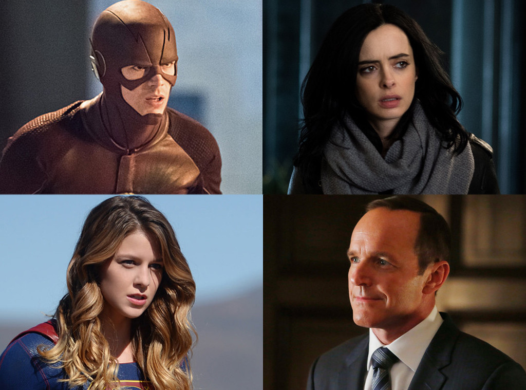 Clark Gregg, Supergirl, Jessica Jones, Flash