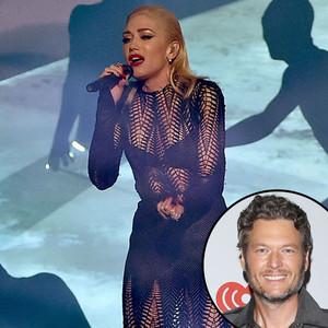 Gwen Stefani, 2015 American Music Awards, Blake Shelton