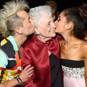 Frankie J. Grande, Marjorie 'Nonna' Grande, Ariana Grande
