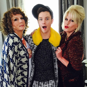 Absolutely Fabulous: The Movie, Chris Colfer