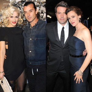 Gwen Stefani, Gavin Rossdale, Ben Affleck, Jennifer Garner
