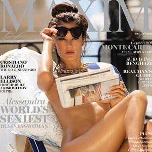 Alessandra Ambrosio, Maxim Magazine